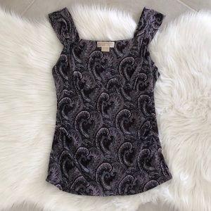 NWT! MK Paisley Pattern Blouse, size M/L